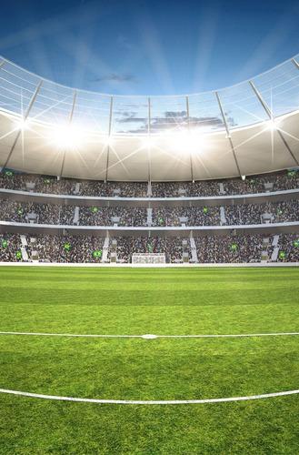 Fundo Fotográfico Estádio De Futebol 1, 20 X 1, 70m Tecido