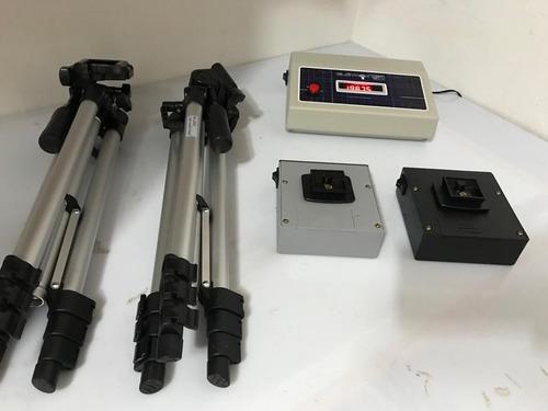 Kit De Fotocélulas Para Cronometragem De Veículos