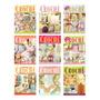 Kit 7 Revistas Trabalhos Em Crochê Banheiros Cozinhas Lote 3