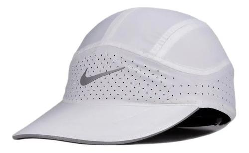 Bone Nike Branco Featherlight Corrida Original Treino Malhac
