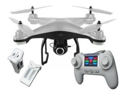Drone Multilaser Fenix Es204 Com Câmera Fullhd Branco E Pret