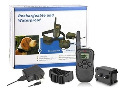 Coleira Eletrônica Recarregável Para Adestramento De Cães
