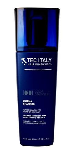 Tec Italy Lumina-shampoo Matizador Cabello Rubio O Blanco