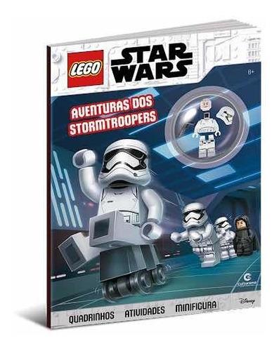 Lego Star Wars Aventuras Dos Stormtroopers Livro + Boneco