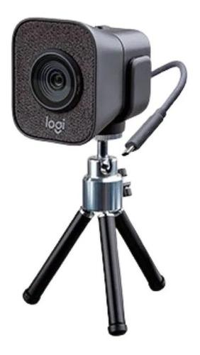 Camara Web Webcam Logitech Stream Cam Plus 1080p Con Tripode