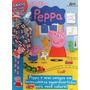 Revista Para Colorir Peppa Pig Especial Grátis Um Colar
