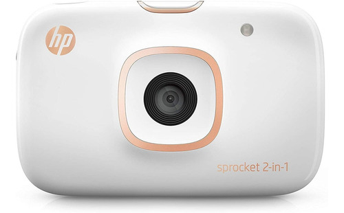 Câmera E Impressora Hp Sprocket 2 Em 1 + Sd Card + 20 Filmes