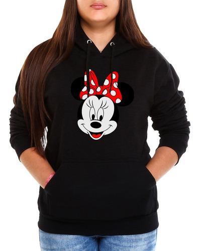 Moletom Mickey Minnie Feminino Casaco Canguru Blusa De Frio