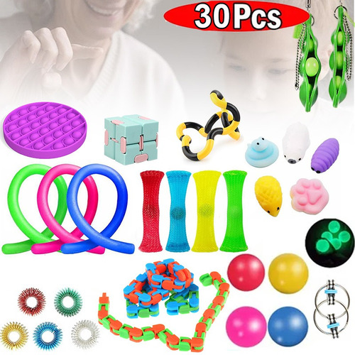 29pack Brinquedos Sensory Fidget Set Stress Relief Forkids A