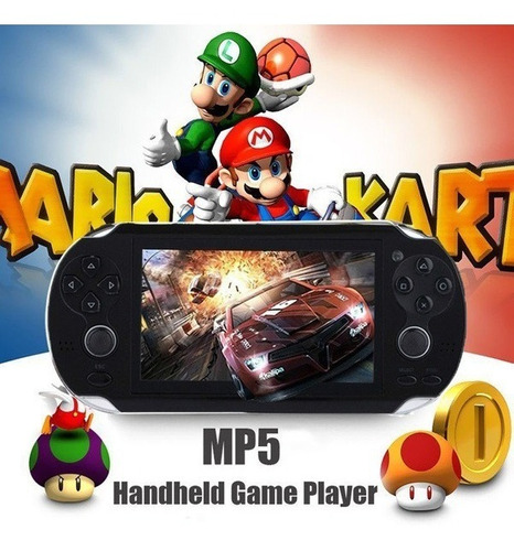 Vídeo Game Console Player 8gb, Tela De 4,3 Polegadas