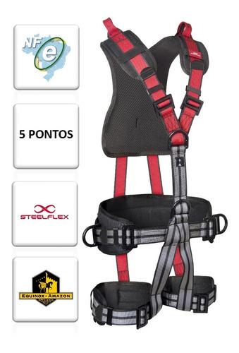 Cinto De Segurança Steelflex 5 Pontos