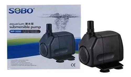 Bomba De Agua Sobo 2800 L/h 2.8m Peces Acuarios Hidroponía