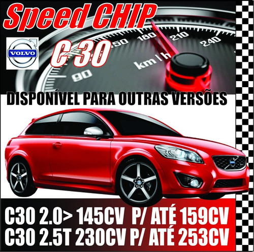 Chip De Potência Volvo C30 Power By Speed Chip Original