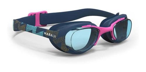 Óculos De Natação  X Base Print Tamanho Grande Nabaiji