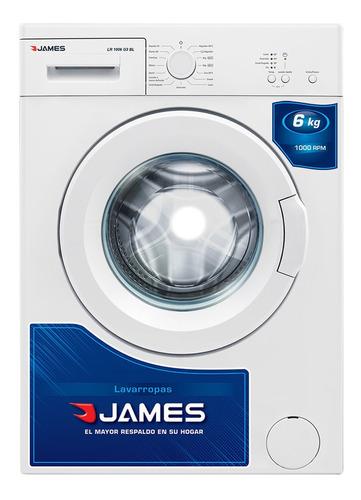 Lavarropas Automático James Lr 1006 G3 Blanco 6kg 220v - 240v