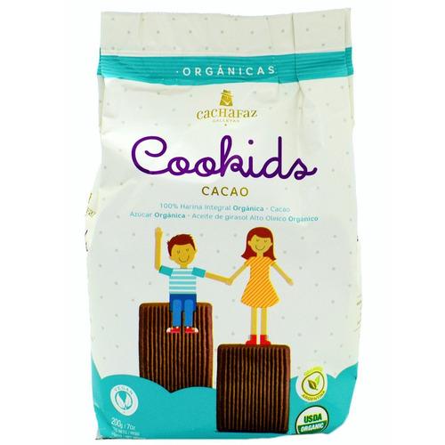Galletita Cachafaz Cookids De Chocolate 200g