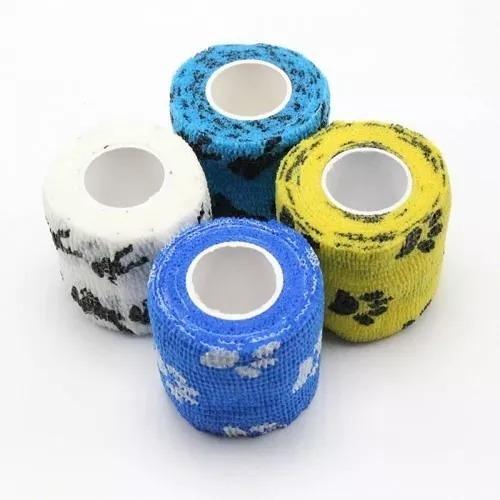 Bandagem/atadura Elástica Flexi. Tipo Coflex C/ Patinhas 5cm