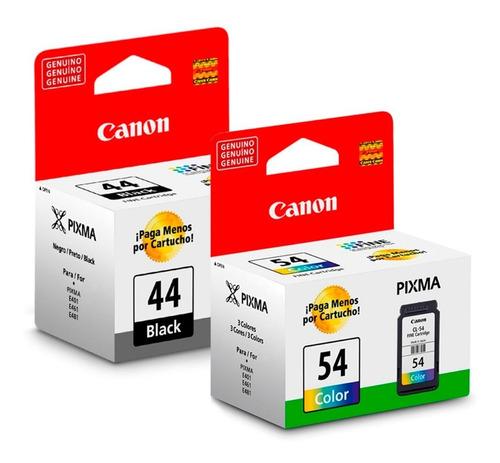 Cartuchos Canon Pg-44 Y Cl-54 E401 E471 E3110 E481 E4210