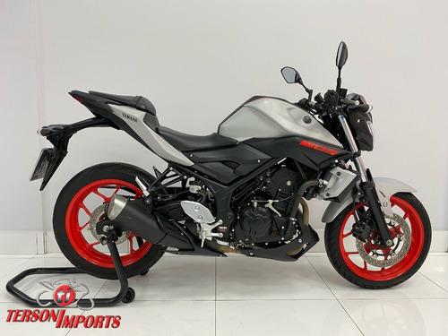 Yamaha Mt-03 Abs 2020 Cinza