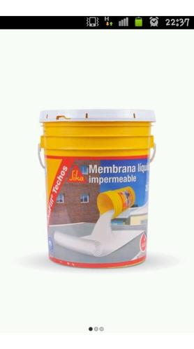 Membrana En Pasta Inpermeable Sika