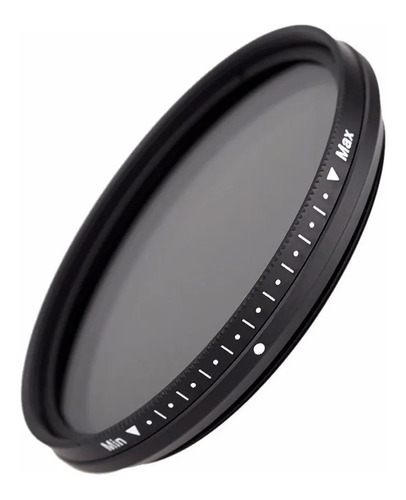 Filtro Densidad Neutra Nd Variable Nd2 Nd400 Fotga 55mm