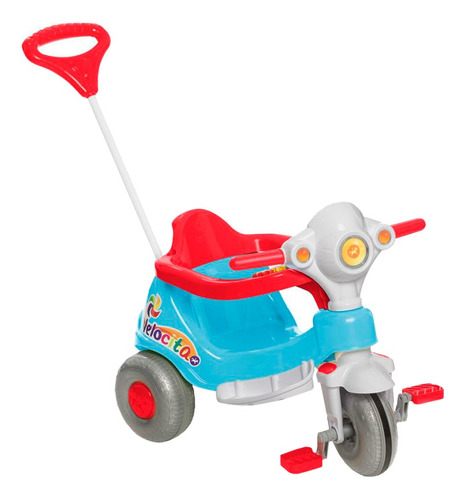 Triciclo Infantil Calesita Velocita - 2 Em 1 - Pedal E Passe