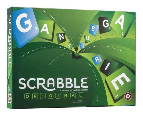 Scrabble Mattel Juego De Palabras Cruzadas Original Ruibal