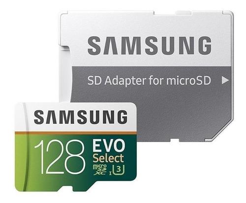 Tarjeta De Memoria Samsung Mb-me128ha/am  Evo Select Con Adaptador Sd 128gb