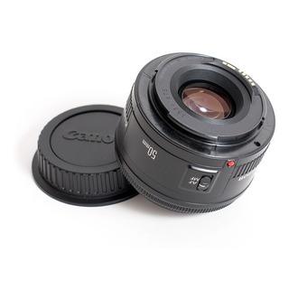 Lente Camara Canon Ef 50 Mm. F1.8 Fijo Micro Motor