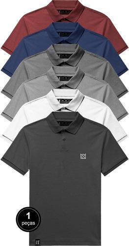Camisa Gola Polo Masculina Premium By Novastreet