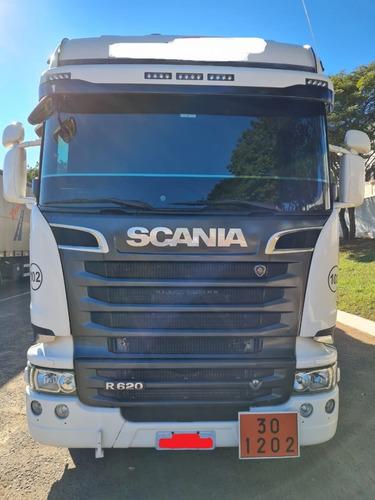Scania R-620 A 6x4   Streamline 2018/18 Único Dono Novissima