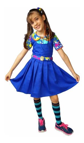 Fantasia Roupa Vestido Chiquititas +marias Chiquinhas
