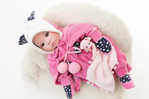 Boneca Bebe Reborn Menina Corpo Silicone Pode Dar Banho Xodó