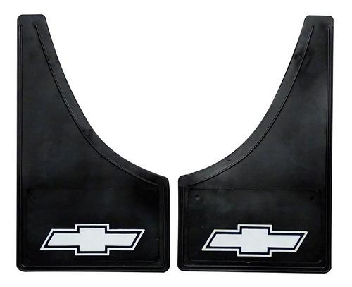 Juego Barreros Barreros Universales Chevrolet Con Logo X 2