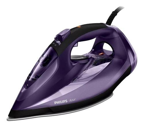 Plancha A Vapor Philips Gc4563 Azur Color Violeta Con Suela Antiadherente 240v