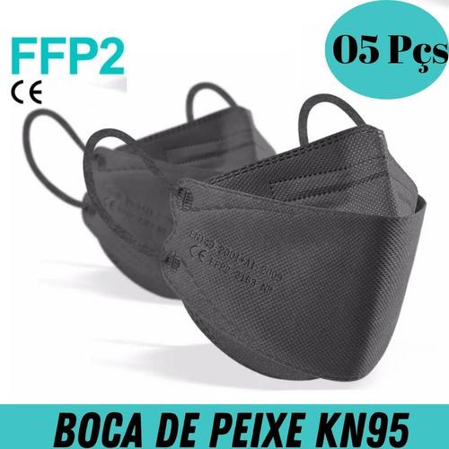 Máscaras N95 Kn95 3d Modelo 3m Lançamento Boca De Peixe C Ce