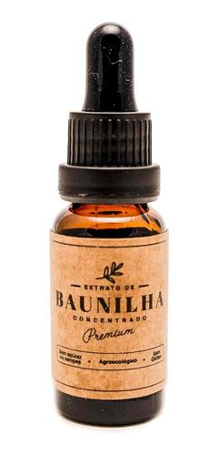Extrato De Baunilha Concentrado Premium 25ml Ingredientes On