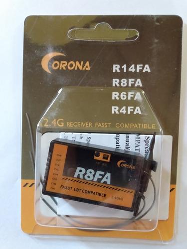Receptor 8 Ch Corona - Futaba Fasst Compatible - R8fa 2,4g