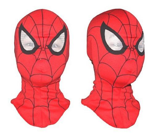 Máscara Homem Aranha Spiderman Festa Halloween Fantasia Top