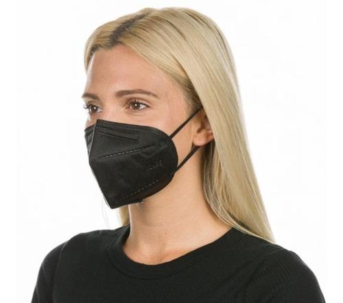 Kit 10 Máscaras Kn95 Colorida Proteção 5 Camada C/clip Nasal