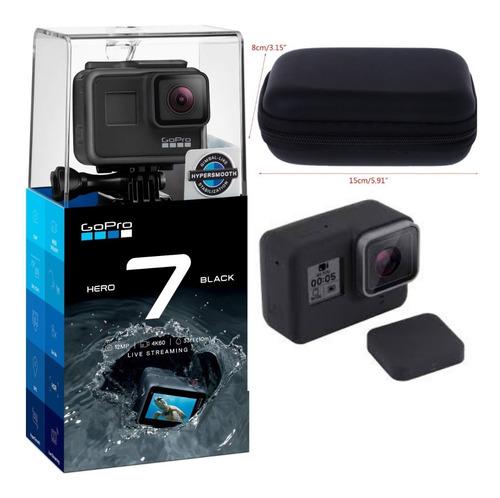 Câmera Hero 7 Black À Prova Dágua 4k + Capa De Silicone