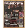 Revista Roadie Crew Nº 180 Sepultura Do Palco Para O Estúdio