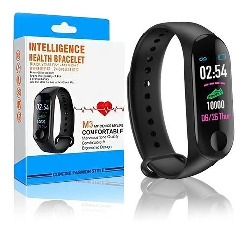 Relógio Pulseira M3 Smart Band Inteligente Digital Sáude