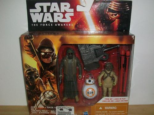 The Force Awakens Star Wars Hasbro Disney Muñeco Figuras