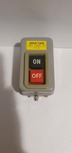 Interruptor De Boton De Encendido Monofasico Ó Trifasico 16a
