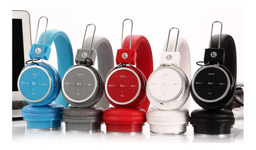 Fone De Ouvido Bluetooth Headphone Wireless Sd Mp3 Fm Usb