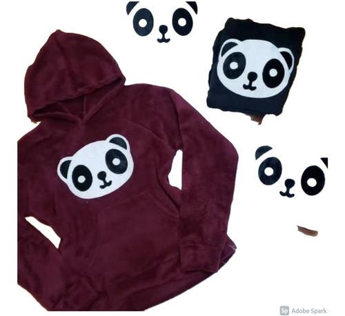 Blusa Frio Panda Feminina Fofinha Moda Instagran