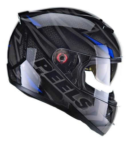 Capacete De Moto Peels Com Oculos Interno Solar Icon Fast