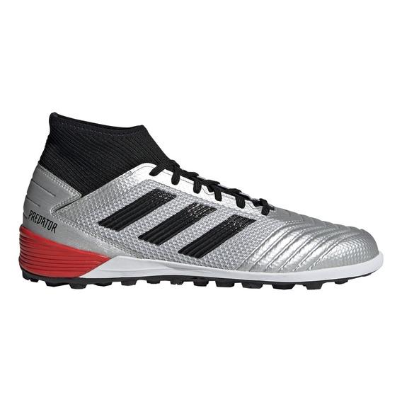 Botines adidas Futbol Predator 19.3 Tf Hombre Gr/pl