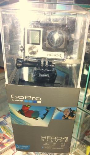 Gopro Hero 4 4k Acuática Silver / Nuevo Sellado Garantia